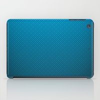 lv iPad Cases featuring LV Blue Pattern by Veylow