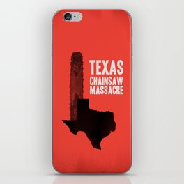 Texas Chainsaw Massacre iPhone Skin