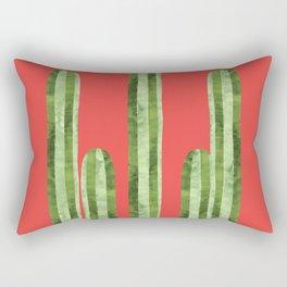Painting of Cacti III Rectangular Pillow