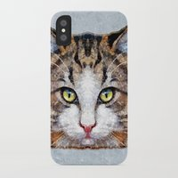 meow iPhone & iPod Cases featuring MEOW by Ancello