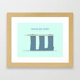 Marina Bay Sands, Singapore [Building Singapore] Framed Art Print