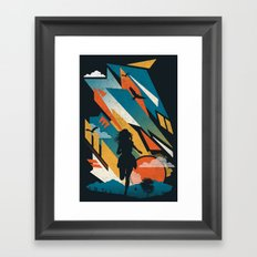 Horizons Framed Art Print