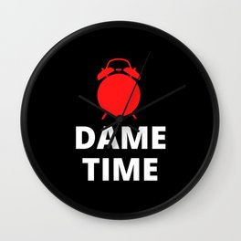 Dame Time Clock Wall Clock