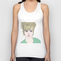fashion illustration Tank Tops featuring Fashion illustration by Selma Roberts