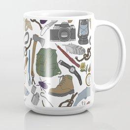 Adventure Equipment Coffee Mug
