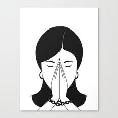 Modern woman Canvas Print