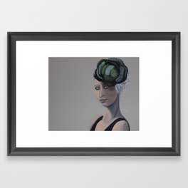 Cabbage Head 2 Framed Art Print