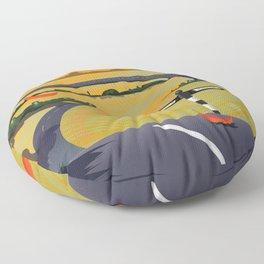 The Peak District Floor Pillow