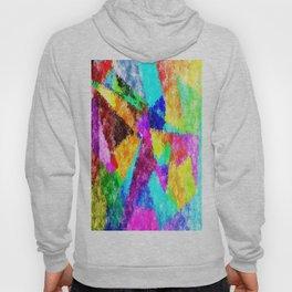 Formes géométriques multicolore Hoody