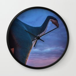 Walking in High Places Wall Clock
