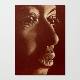 mama africa- brown Canvas Print