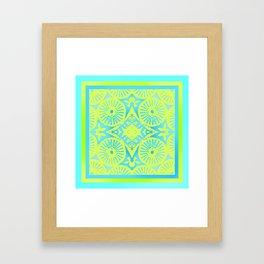 tropicana quicksand Framed Art Print