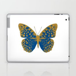 Blue Butterfly Laptop & iPad Skin