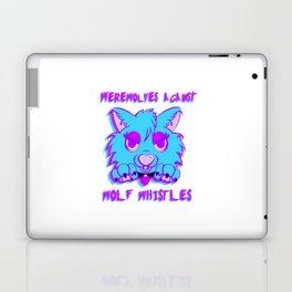 Werewolves against wolf whistles Laptop & iPad Skin
