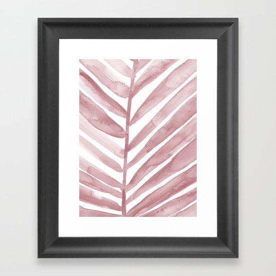 Pink Palm Leaf Crop by alicekierre