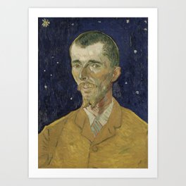 Eugène Boch by Vincent van Gogh Art Print