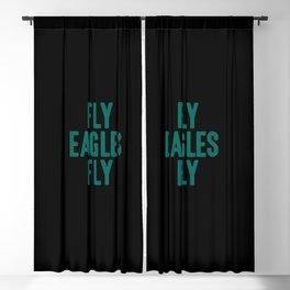 Fly Eagles Fly Philadelphia Football Blackout Curtain