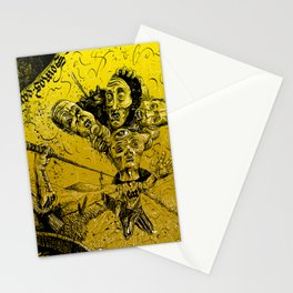 Violent muses Stationery Cards