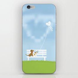 Dogs In Love iPhone Skin