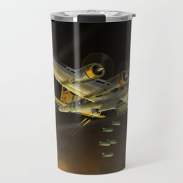 B17 Night Mission Travel Mug