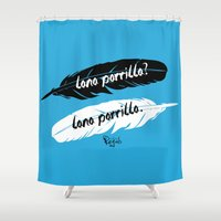 lana Shower Curtains featuring Lana Parrilla? Lana Parrilla. by VivianaRizzi