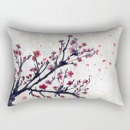 Sakura Sakura watercolour Rectangular Pillow