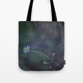 Daisy with Dark Expressions Tote Bag