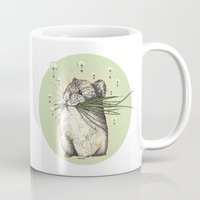 hamster Mugs featuring Hamster Love by Nasuta