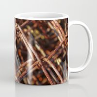 the wire Mugs featuring wire by Seed Margarita