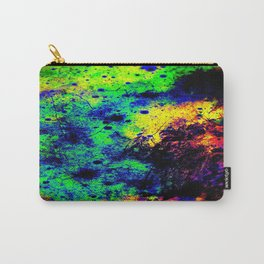 Grunge Abstract : Rainbow Carry-All Pouch