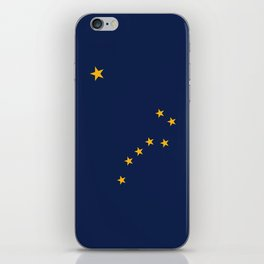 State flag of Alaska - Authentic version iPhone Skin
