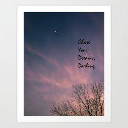 Dream Chaser Art Print
