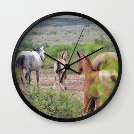 Band of Horses Wall Clock