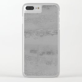 Plantes simples Clear iPhone Case