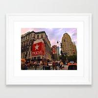 manhattan Framed Art Prints featuring Manhattan by Jaime Viens