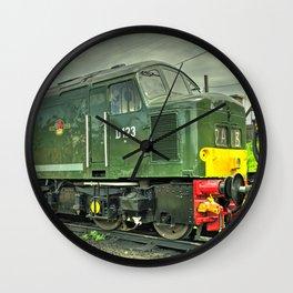 Peaky Dazzler Wall Clock