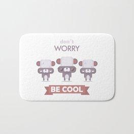 Be cool. Panda Bath Mat