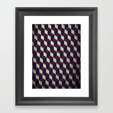 pop cube Framed Art Print