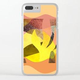Desert Clear iPhone Case