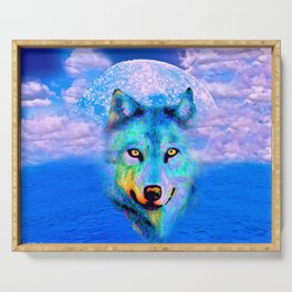 WOLF #2 Serving Tray