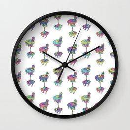cream cult cocktail Wall Clock