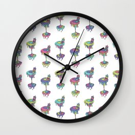 cream cult cocktail Wall Clock