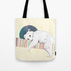 My bear is dreaming Tote Bag