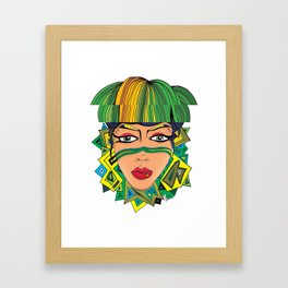 """Green with Envy"" Framed Art Print"