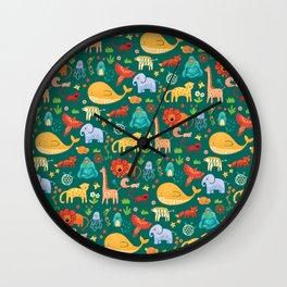 Animals Wall Clock
