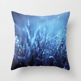Blue Dreams Throw Pillow