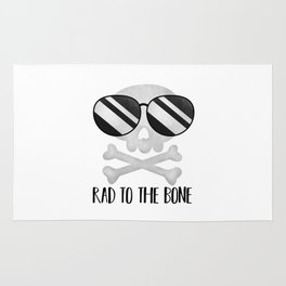 Rad To The Bone Rug