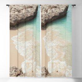 Tropical Paradise | beach waves travel photography ocean nature sea Blackout Curtain