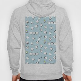 Teeth pattern Hoody