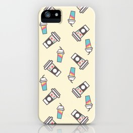 Cup Pattern 1 iPhone Case